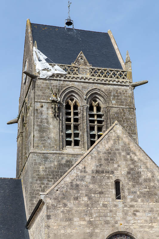 Sainte-Mere-Eglise Normandy France Dorsetcamera