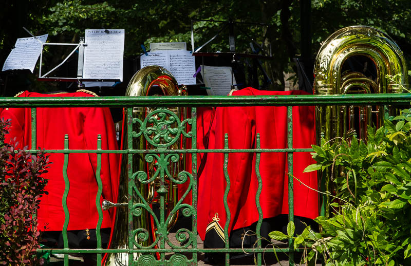 Sherborne Town Band Music in the park Dorset Dorsetcamera