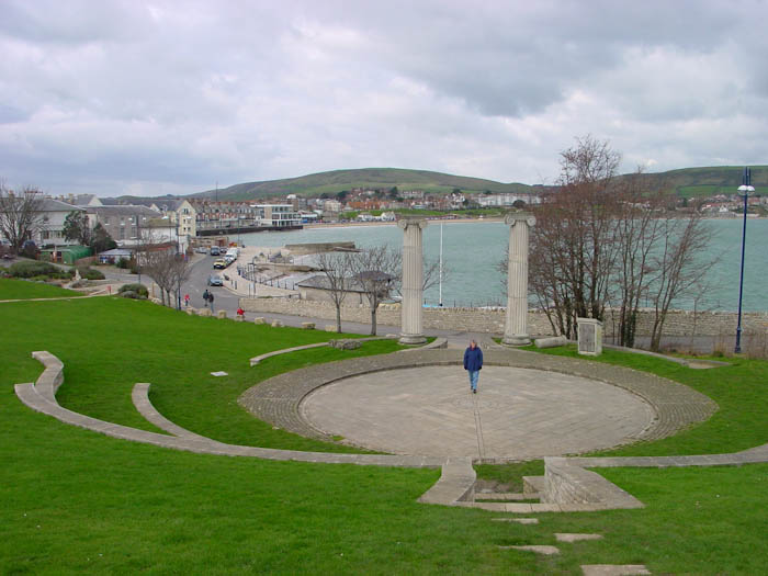 Theatre Open Air Dorsetcamera Swanage Coast Path walk
