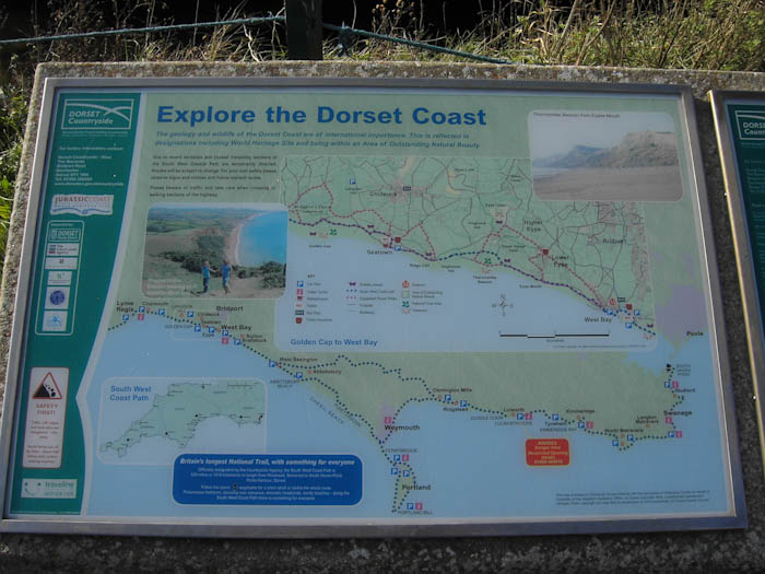 Seatown Dorset Dorsetcamera  Coastal Path Walk
