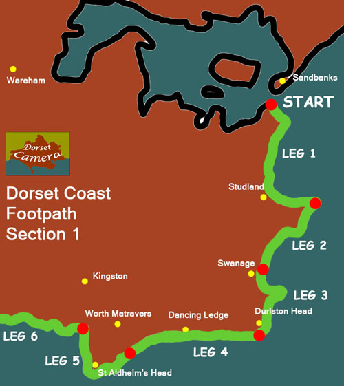 Dorset Coast Path Section 1