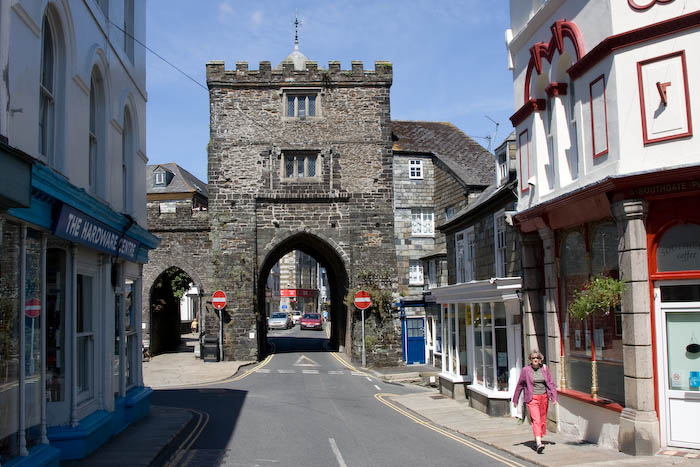Town Gate Launceston Cornwall