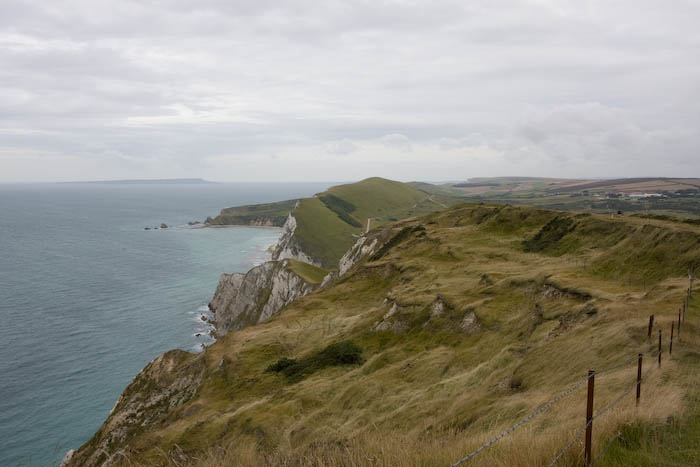Dorset Coast Path Worbarrow Bay