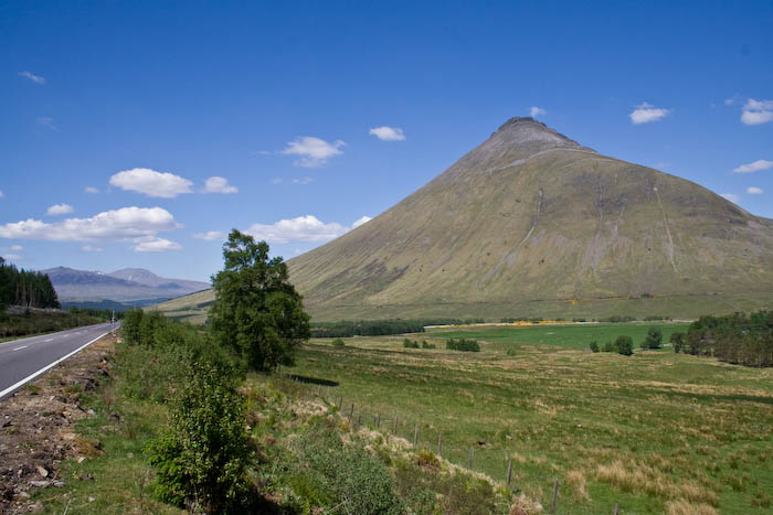 Ben Dorain near The Bridge of Orchy.