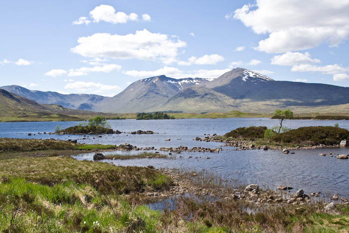 Loch Tulla and Stob a' Choire Odhair