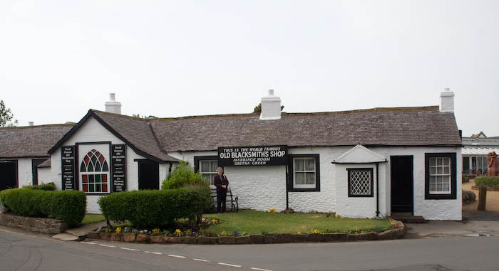 Old Blacksmith's shop Gretna Green.