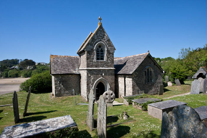 St Michaels church Porthilly Rock Cornwall Dorsetcamera